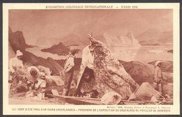 Exposition Coloniale Internationale Paris 1931 - Camp D'été Près D'un Fjord - Pavillon De Danemark - Voir 2 Scans - Ausstellungen