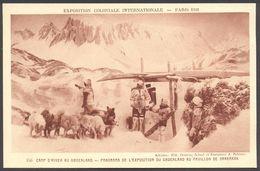 Exposition Coloniale Internationale Paris 1931 - Camp D'hiver Au Groenland - Pavillon De Danemark - Voir 2 Scans - Ausstellungen