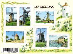 France.bloc No F4485 De 2010.les Moulins.n**. - Sheetlets