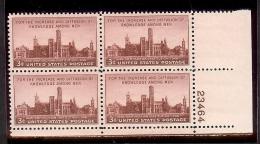 1946 - U.S. # 943 - Block Of 4 - Mint VF/NH - United States