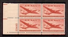 1946 - U.S. # C32 - Block Of 4 - Mint VF/NH - United States