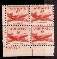 1947 - U.S. # C33 - Block Of 4 - Mint VF/NH - United States