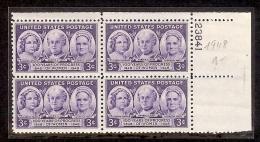 1948 - U.S. # 959 - Block Of 4 - Mint VF/NH - United States