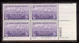 1948 - U.S. # 970 - Block Of 4 - Mint VF/NH - United States