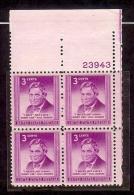 1948 - U.S. # 975 - Block Of 4 - Mint VF/NH - United States