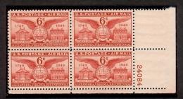 1949 - U.S. # C40 - Block Of 4 - Mint VF/NH - United States