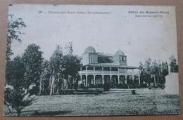 "Maurice Ile  Pamplemousses Obsevatoire Royal Cpa  Mauritius 1925 à Bord ""ville Strasbourg "" - Mauritius"