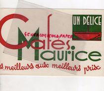 83 - TOULON - BUVARD CAFES MAURICE UN DELICE - Food