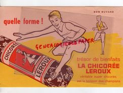 59 - ORCHIES- BUVARD CHICOREE LEROUX - COURSE A PIED - DE HAIES - ATHLETISME - Buvards, Protège-cahiers Illustrés