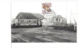 17039 - Carte Maximum UeBB Motorlok Train Vapeur Uetikon 1987 (format 10X15) - Trains