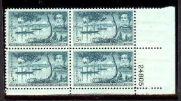 1953 - U.S. # 1021 - Block Of 4 - Mint VF/NH - Nuovi