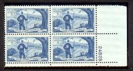 1953 - U.S. # 1024 - Block Of 4 - Mint VF/NH - Unused Stamps