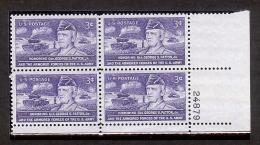 1953 - U.S. # 1026 - Block Of 4 - Mint VF/NH - Unused Stamps