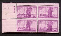 1953 - U.S. # 1027 - Block Of 4 - Mint VF/NH - Unused Stamps
