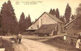 Jalhay (près De) - Le Moulin De Dison En Fagne (animée, Attelage âne) - Jalhay