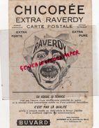 59 - SAINT SAULVE- BUVARD CHICOREE EXTRA RAVERDY- - Buvards, Protège-cahiers Illustrés