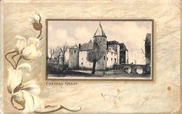 Château Graaf (précurseur, Relief Gaufrée, Edit Jos. Bolsée-Defesche, 1913...pli Coin) - Plombières