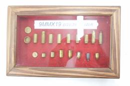 Tableau De Fabrication D'un Cartouche Traçante De 9mm Parabellum Française. - Decorative Weapons
