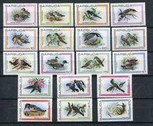1980- BARBUDA- BIRDS- CPL.SET- M.N.H.- LUXE !! - Antigua And Barbuda (1981-...)