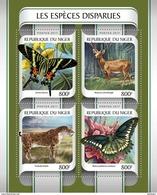 NIGER 2017 - Extinct Species. Official Issue - Prehistorisch