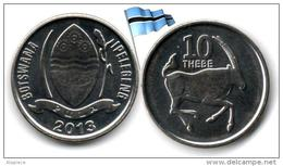 Botswana - 10 Thebe 2013 (UNC) - Botswana