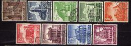 Deutsches Reich, 1940, Mi 751-759, Wintershilfswerk, Gestempelt [090717XIX] - Deutschland