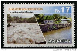 Mauritius 2015 - Prevention Des Risques Catastrophes Naturelles - 1v Neufs // Mnh - Maurice (1968-...)