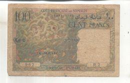 Billet Cote Francaise Des Somalis 100 Francs - France