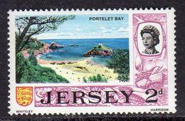 GB JERSEY - 1969 DEFINITIVE 2d PORTELET BAY STAMP SG 17 FINE MNH ** - Jersey