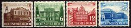 Deutsches Reich, 1941, Mi 764-767**, Leipziger Messe [090717XIX] - Alemania