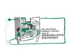 Buvard Le Réfigérateur électrique - Electricité & Gaz
