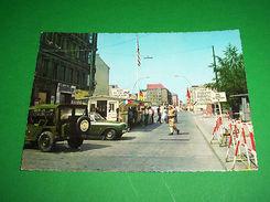 Cartolina Germania - Berlino - Checkpoint Charlie 1967 - Cartoline