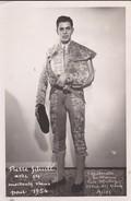 CORRIDA ---ARLES--1954---apoderado En France LUIS MUNOZ--Photo  GARIMOND ARLES --voir 2 Scans - Corrida
