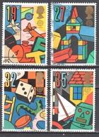 Great Britain 1989 - Mi.1202-05 - Used - Gestempelt - 1952-.... (Elizabeth II)