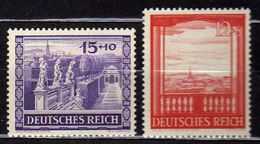 Deutsches Reich, 1941, Mi 804-805 **, Wiener Messe [090717XIX] - Neufs