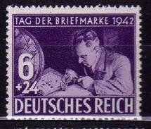 Deutsches Reich, 1942, Mi 811 **, Tag Der Briefmarke [090717XIX] - Germany