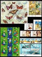 UKRAINE 2004 Complete Year Set + Sheetlets / Große Jahressatz + KLB + MH / L'ensemble Année Complète **/MNH - Ukraine