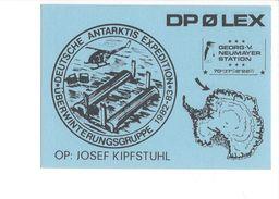 17048 - Josef Kipfstuhl DPOLEX Deutsche Antarktis Expédition 1982-83 Georg.V. Neumayer Station - Radio Amateur
