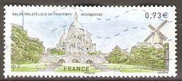 FRANCE   -    2017  .   Montmartre  /  Sacré-Coeur  /  Moulin.   Oblitéré - Used Stamps