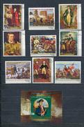 EQUATORIAL GUINEA 1975 Mi # 569 - 577 + Block 168 Bicentennial Of American Revolution CTO - Equatorial Guinea