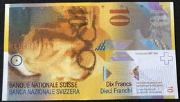 Switzerland P 67 E - 10 Franken 2013 - UNC - Suiza