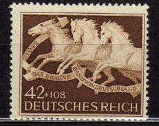 Deutsches Reich, 1942, Mi 815 **, Das Braune Band [090717XIX] - Alemania