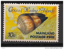 Cocos - 1990 - N°Yv. 226 - Coquillage - Neuf Luxe ** / MNH / Postfrisch - Cocos (Keeling) Islands