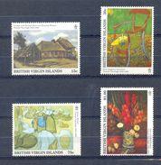 BRITISH VIRGIN ISLANDS * SERIE 4v YEAR 1991 *  VINCENT VAN GOGH ART PAINTER PAINTINGS * MNH - Britse Maagdeneilanden