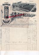 59 - SAINTE OLLE LEZ CAMBRAI- BELLE FACTURE A. CARDON DUVERGER- CHICOREE BOULANGERE-PAQUETAGE CROISSANT-1902 - Alimentos