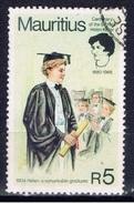 MS+ Mauritius 1980 Mi 501 Helen Keller - Mauritius (1968-...)