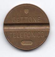 Gettone Telefonico 7511 Token Telephone - (Id-814) - Professionali/Di Società
