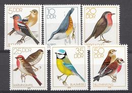 Allemagne 1979  Mi.nr.: 2388-2393 Heimische Singvögel  Neuf Sans Charniere /MNH / Postfris - [6] République Démocratique