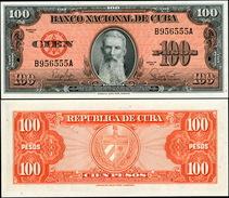 Cuba. 100 Pesos (Unc) 1959. Banknote Cat# P.93a [DLC.BN01453] - Cuba