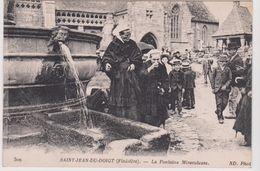 SAINT-JEAN-DU-DOIGT - LA FONTAINE MIRACULEUSE - N° 300 - ND. Phot - Saint-Jean-du-Doigt